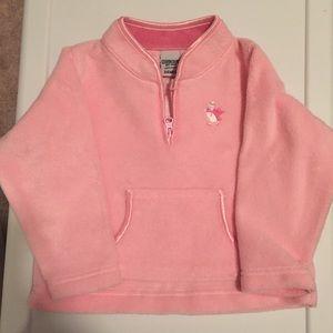 NWOT Osh Kosh Girl's Pink Fleece Sweater